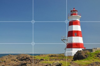 Rule of Thirds Lighthouse